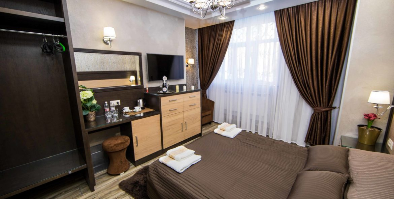 Номер Люкс, отель Эра на ул. Цимбалина, 32, Петербург