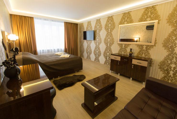 Номер Люкс, отель ЭРА на ул. Седова 59, Санкт-Петербург